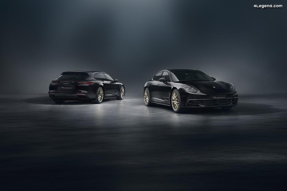Porsche Panamera 10 Years Edition - Une édition spéciale anniversaire