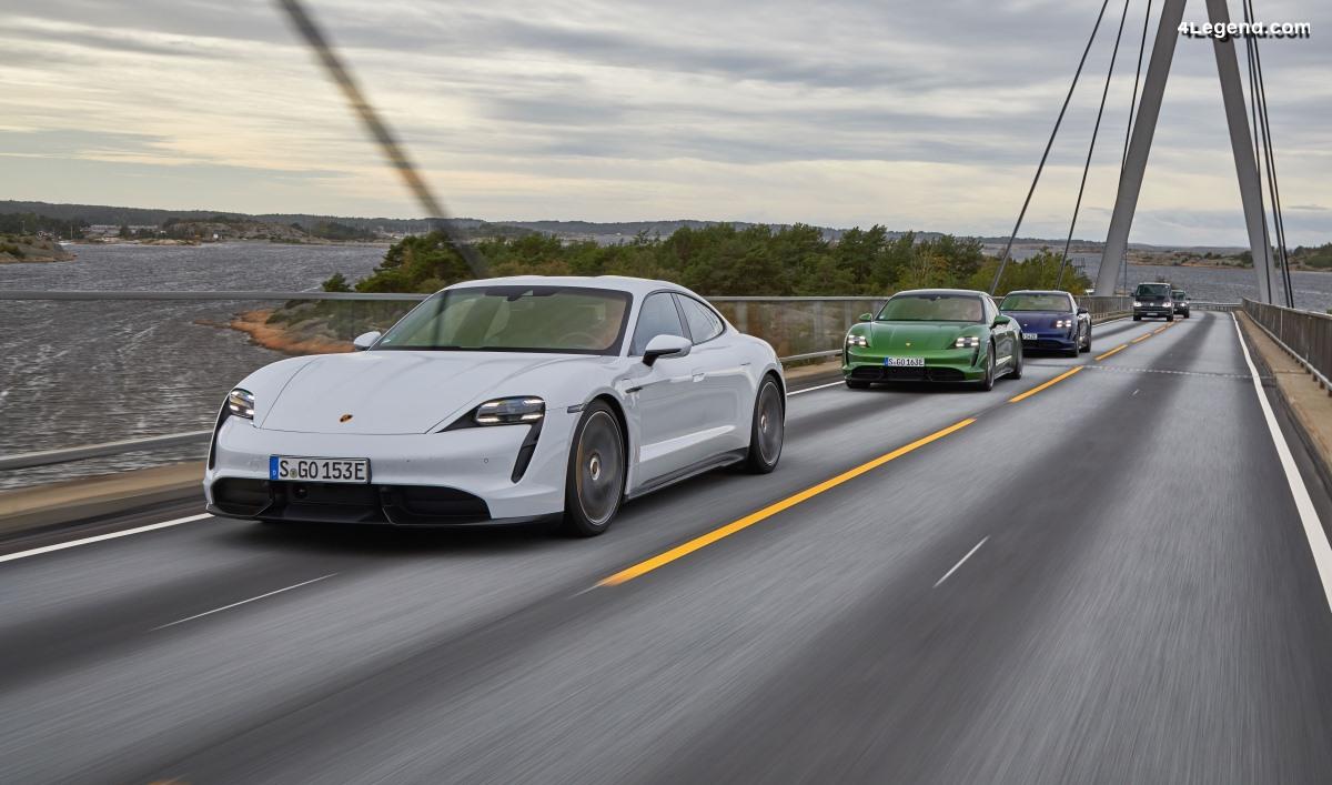 Porsche Taycan Roadtrip Europe - Deux fois le tour du monde en véhicule électrique