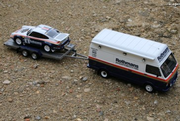 Présentation miniatures 1:18 Pack Rallye 1000 Pistes 1984 – Porsche 911 SC RS & VW LT40 par Ottomobile