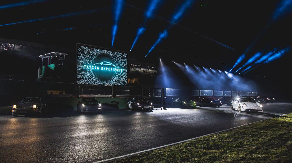 Porsche Electric Night - Première française du Taycan au Porsche Experience Center Le Mans