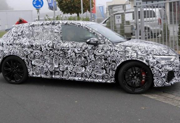 Spyshots nouvelle Audi RS 3 Sportback 2021