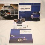 Calendrier de l'Avent Porsche 2019 avec une miniature sonore 911 bleue au 1:43 à monter – Edition Franzis