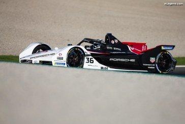 Premiers tests officiels de la Porsche 99X Electric à Valence