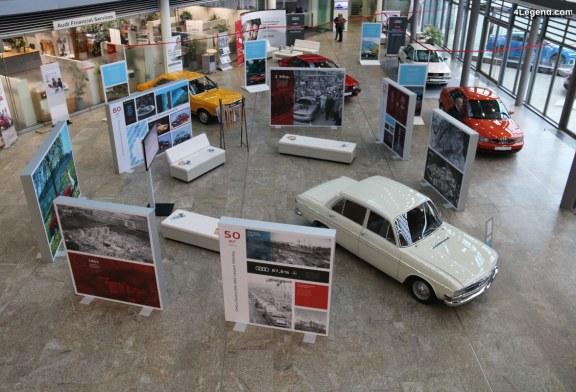 Trois expositions spéciales pour les 70 ans d'Audi à Ingolstadt – 1ère partie
