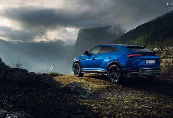 Roadtrip russe en Lamborghini Urus dans des paysages fabuleux