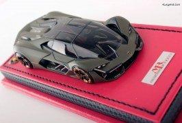 Miniature MR Collection 1:43 – Lamborghini Terzo Millennio Verde Turbine limitée à 19 exemplaires
