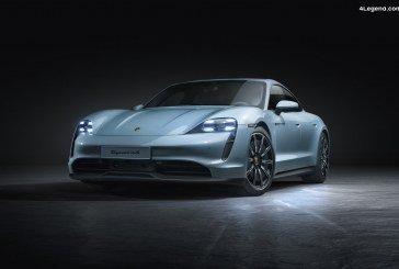 Nouveau Porsche Taycan 4S : Porsche élargit sa gamme de sportives électriques