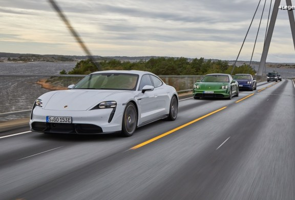 Porsche Taycan Roadtrip Europe – Deux fois le tour du monde en véhicule électrique