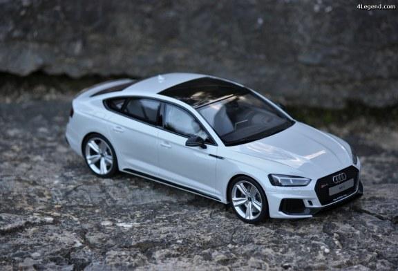 Miniature Audi RS5 Sportback gris Suzuka GT Spirit au 1/18