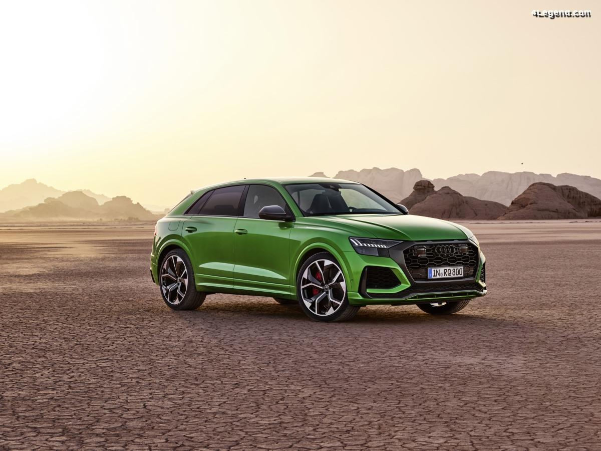 154 900 euros pour la nouvelle Audi RS Q8