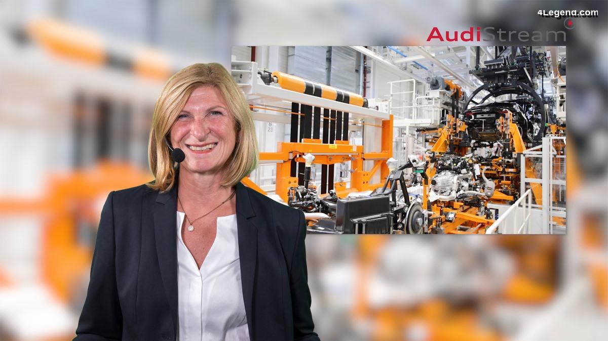 AudiStream : un voyage virtuel dans la production de modèles Audi à Ingolstadt