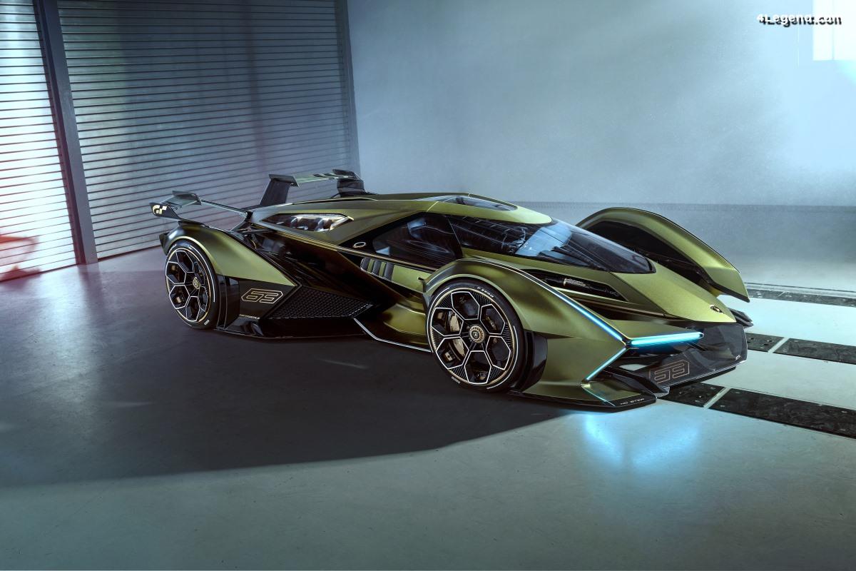 Lamborghini Lambo V12 Vision Gran Turismo - Un concept car virtuel