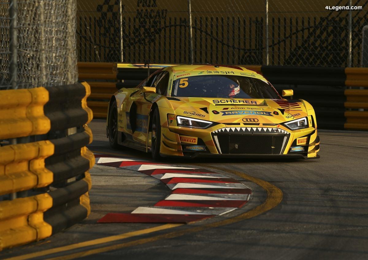 Podium pour l'Audi RS 3 LMS à Macao
