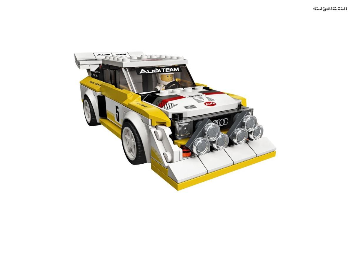 Audi Sport quattro S1 E2 - LEGO Speed Champions