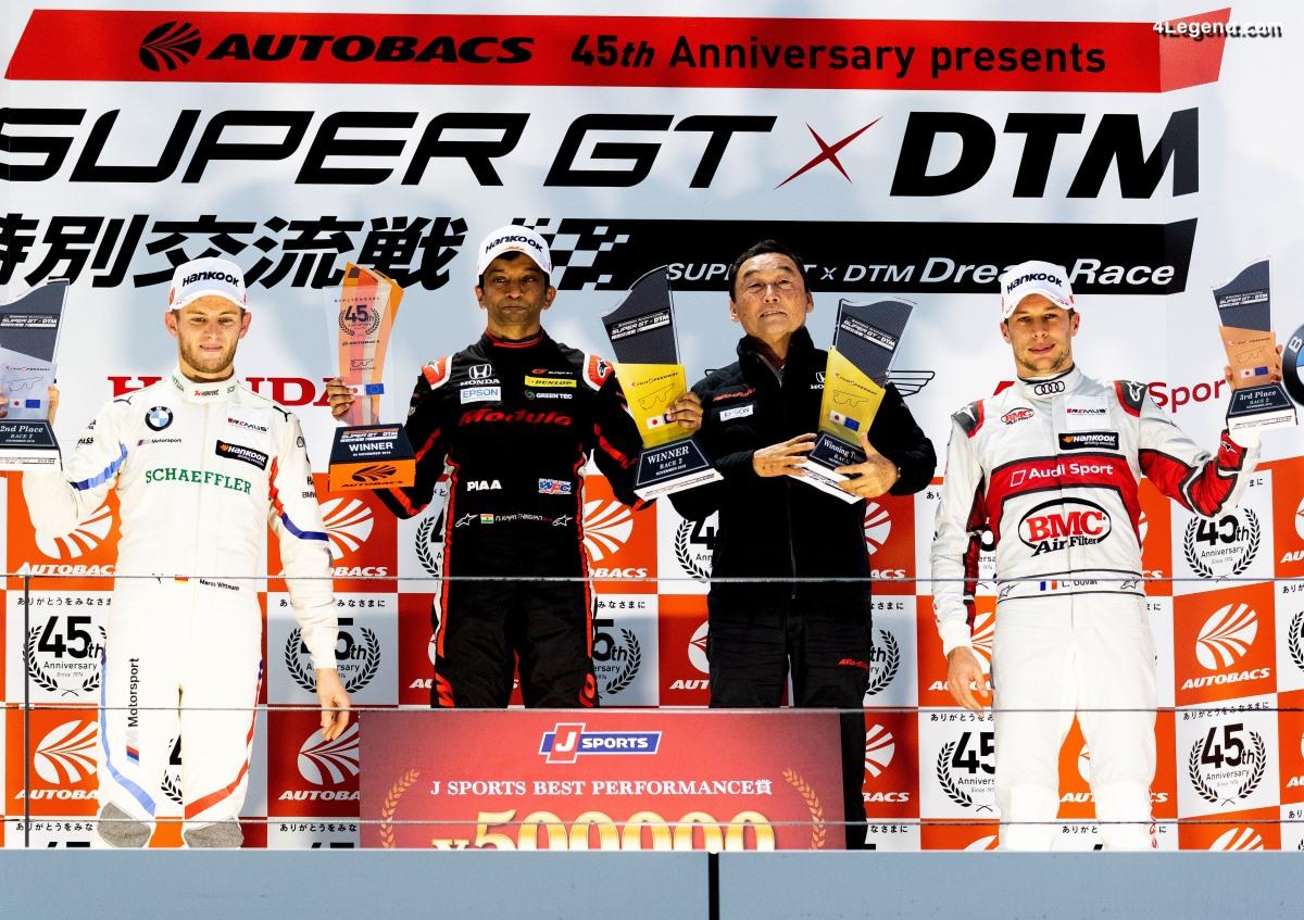 DTM - Podium pour le pilote Audi Loïc Duval à Fuji