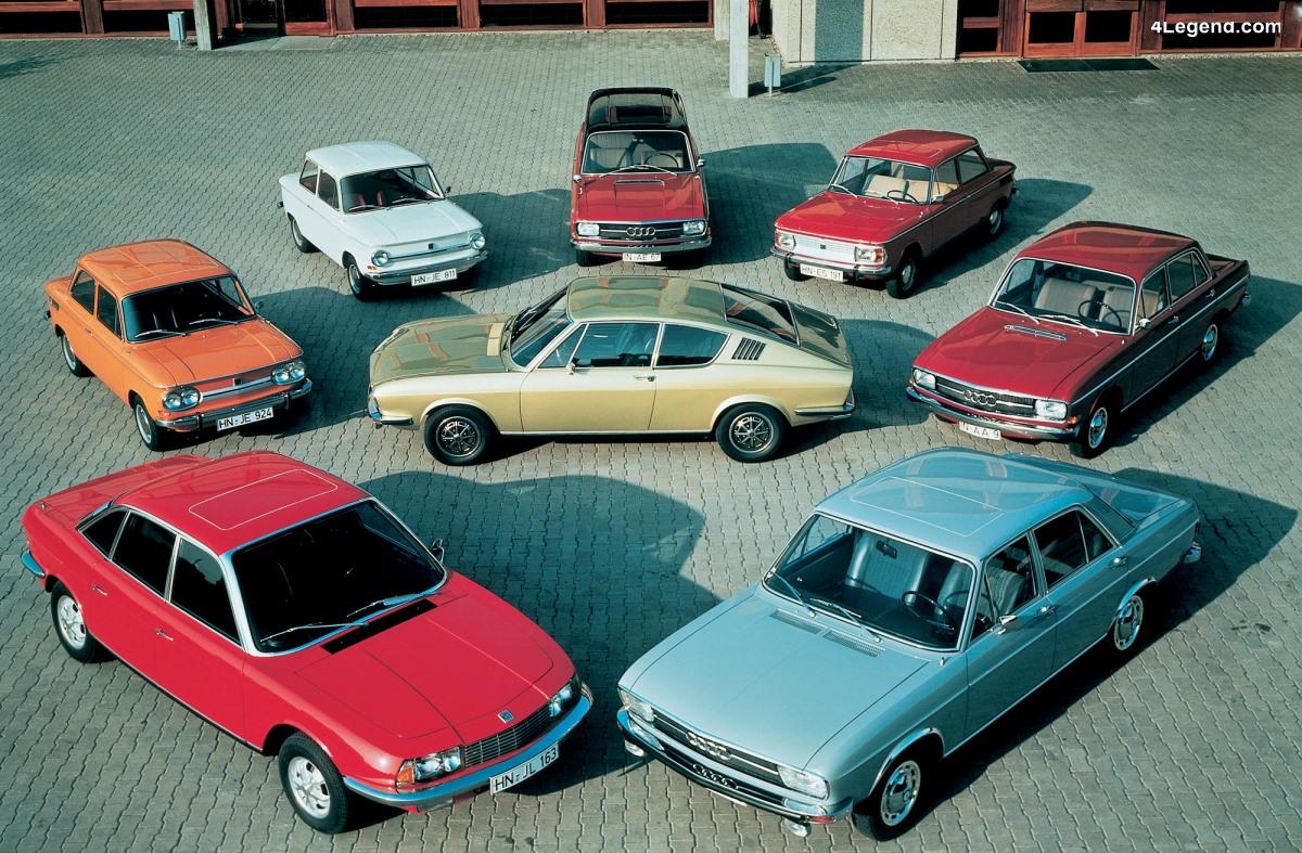 Cinquantenaire de la fusion de NSU et Auto Union / Audi : un nouveau départ