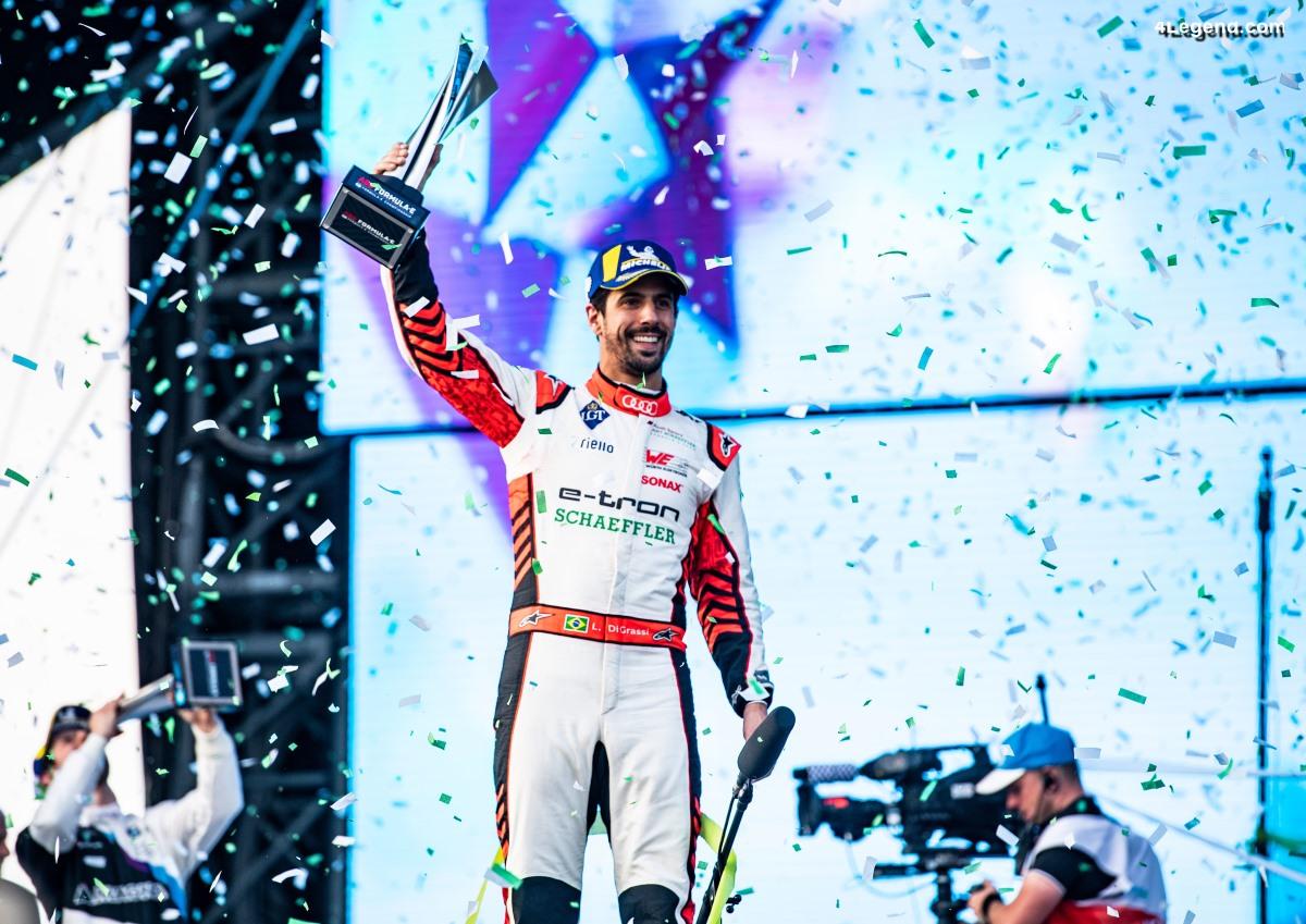 Formule e - Un podium pour Audi et Lucas di Grassi  à Riyad