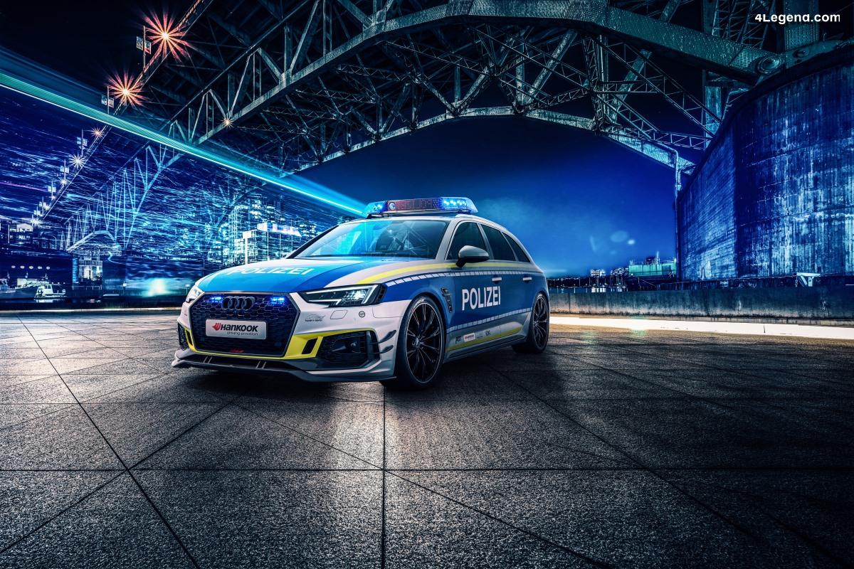 ABT RS4-R Polizei - Une Audi RS 4 Avant de Police pour la prévention du tuning
