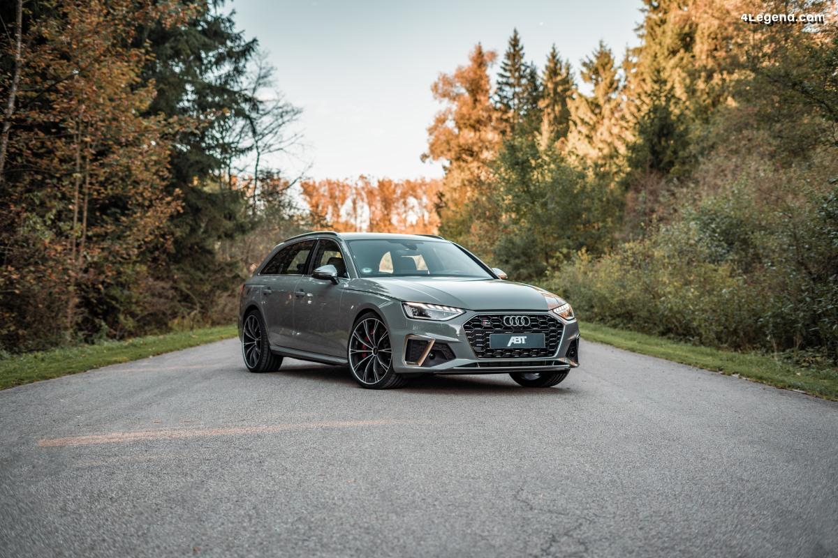 ABT améliore les performances de l'Audi S4 TDI : 384 ch & 760 Nm