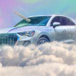 Qnicorn – Une Audi Q3 Licorne prend vie pour Halloween