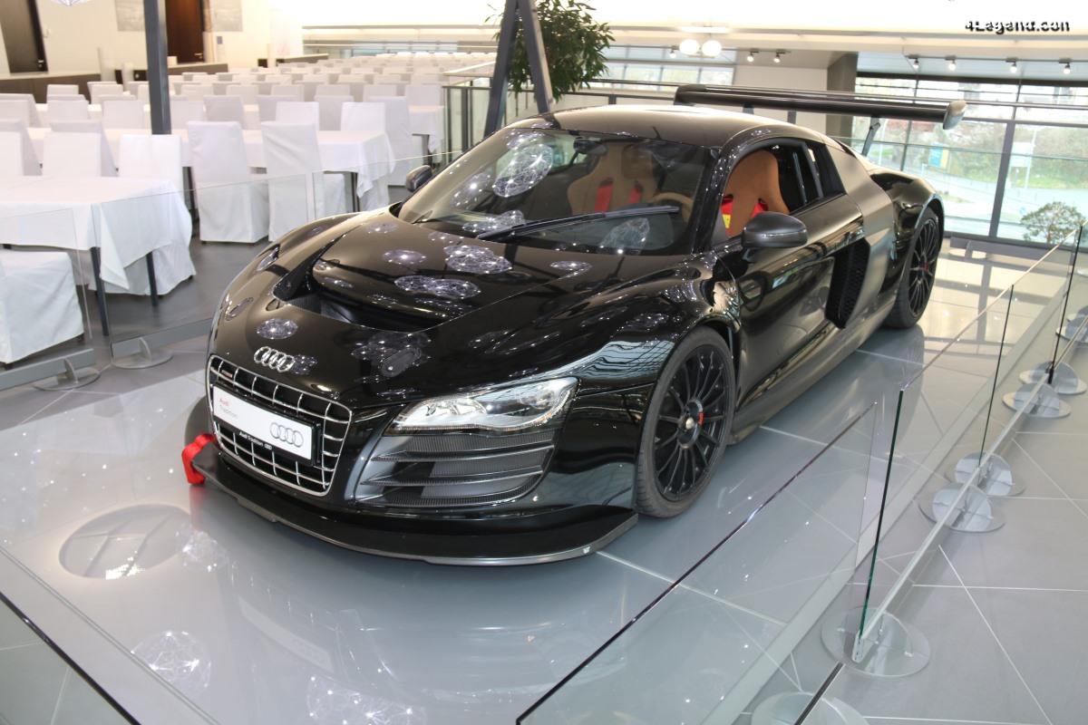 Prototype street legal de l'Audi R8 LMS de 2009
