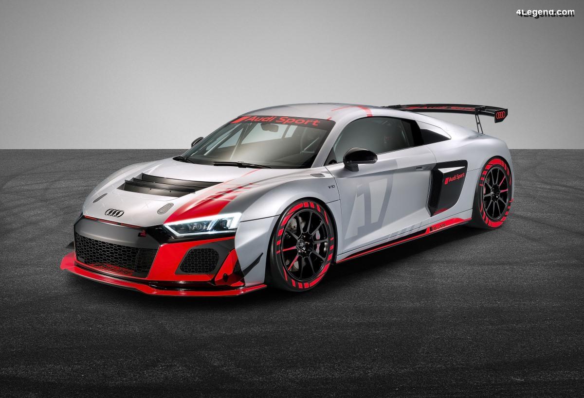 Nouvelle Audi R8 LMS GT4 pour la course client