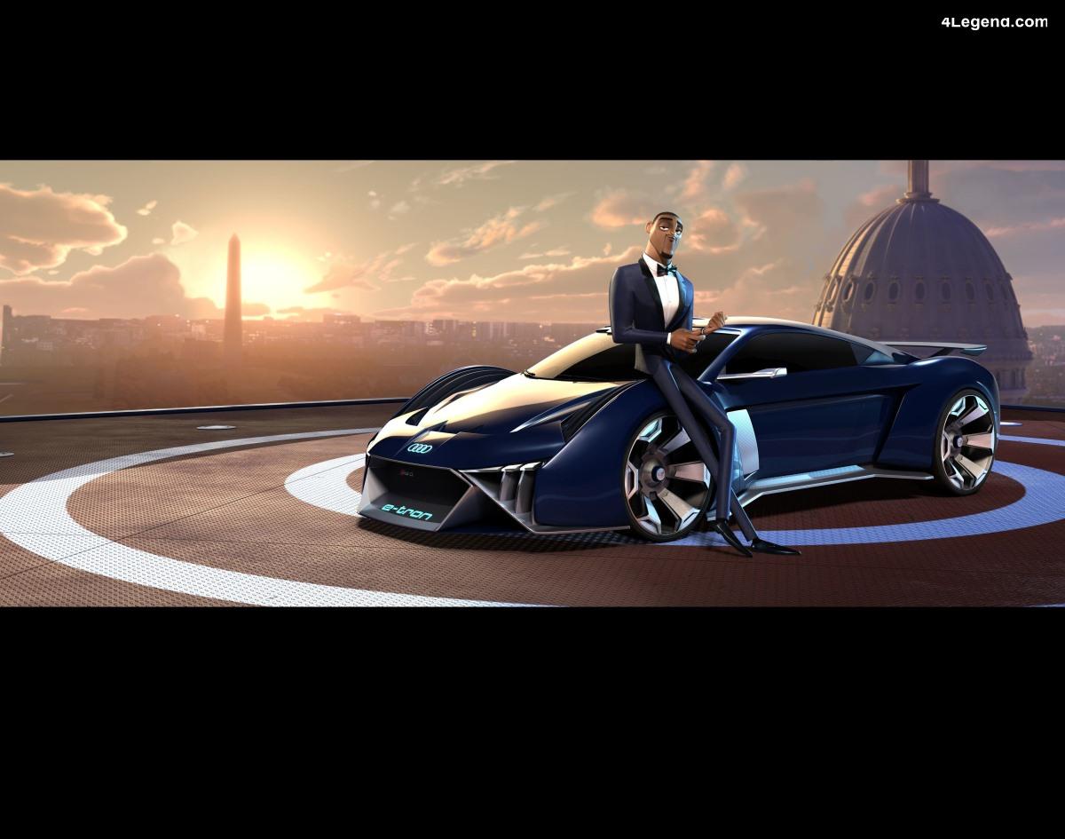 Audi RSQ e-tron - Audi s'associe à Twentieth Century Fox pour le film d'animation