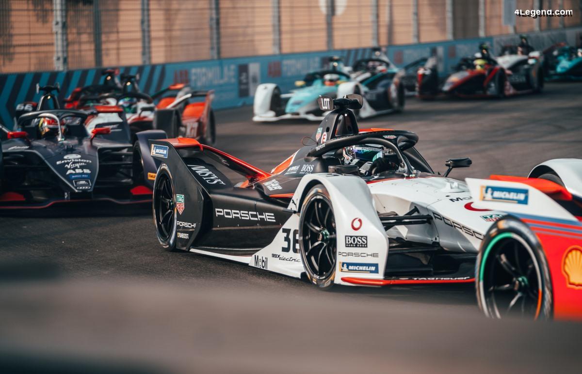 Formule E - Porsche établit un bilan positif suite aux 2 premières courses à Diriyah
