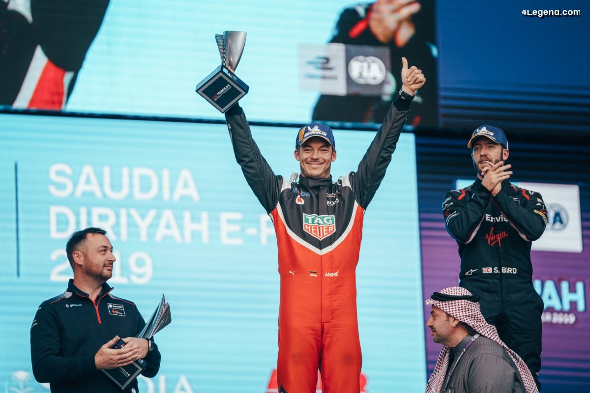 Formule E - Premier podium pour la Porsche 99X Electric en Arabie Saoudite