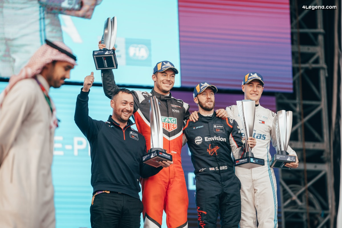 Formule E - Victoire de l'équipe client Audi Virgin Racing à Diriyah