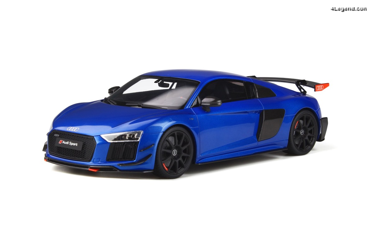 Miniature 1:18 Audi R8 V10 Performance Parts par GT Spirit