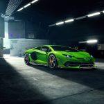 Lamborghini Aventador SVJ par Novitec