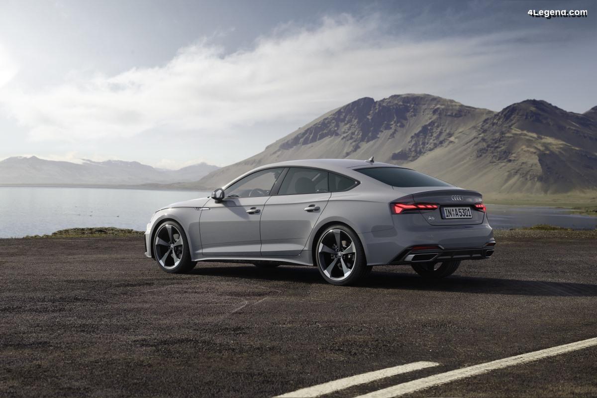 Tarifs et ouverture des commandes des Audi A5 Coupé et Sportback restylées