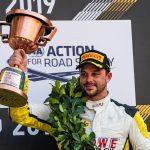 Macao 2019 – Podium pour Laurens Vanthoor et Earl Bamber avec la Porsche 911 GT3 R