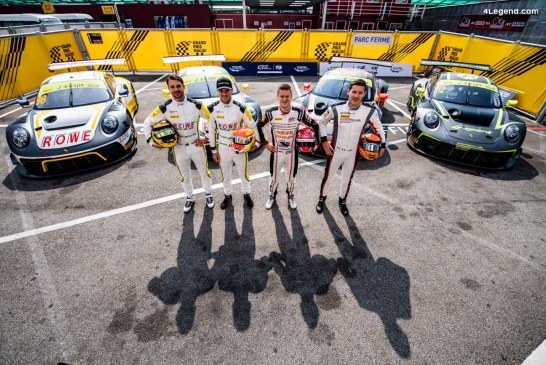 Macau 2019 – Deux Porsche 911 GT3 R se qualifient dans le groupe de tête