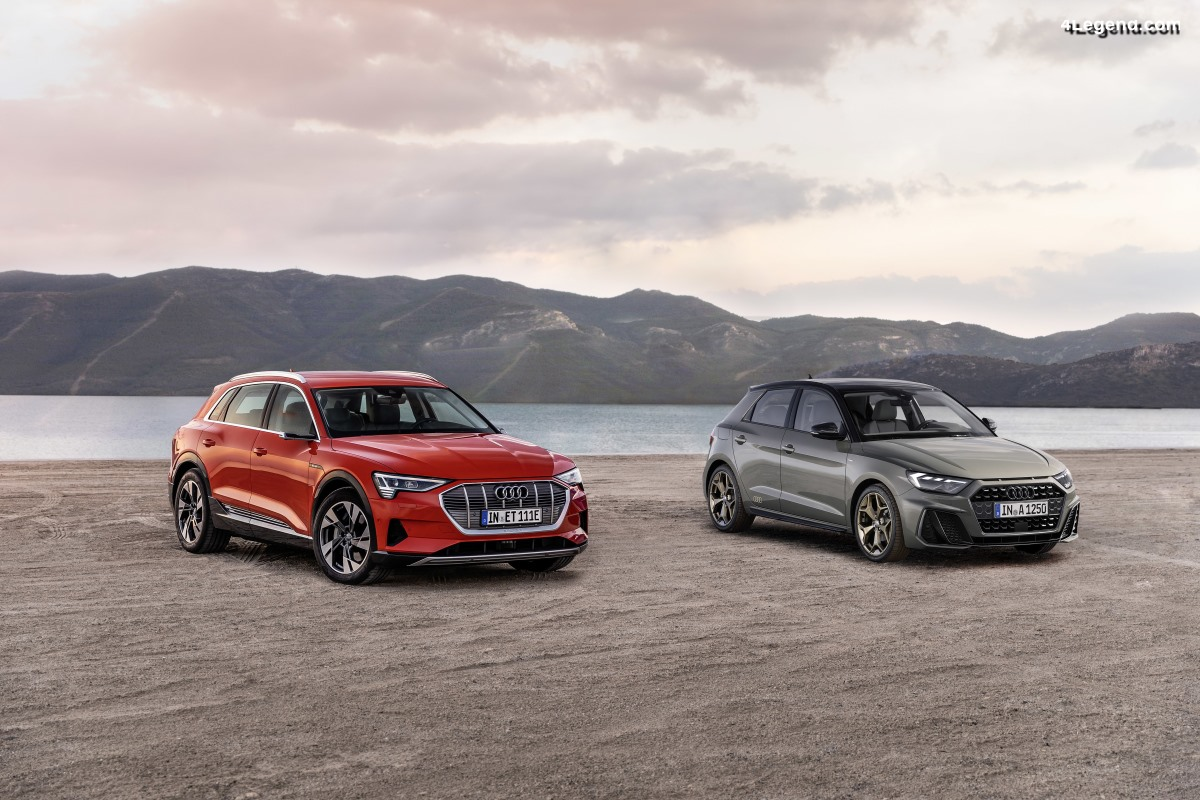 Audi remporte deux récompenses «Volant d'or» : l'A1 et l'e-tron 55 quattro gagnent leurs catégories