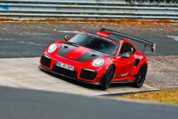 Record du tour de la Porsche 911 GT2 RS MR de Manthey Racing à Hockenheim