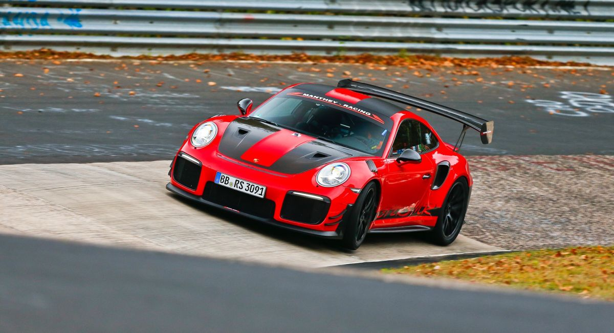 Record du tour de la Porsche 911 GT2 RS MR de Manthey Racing à Hockenheim