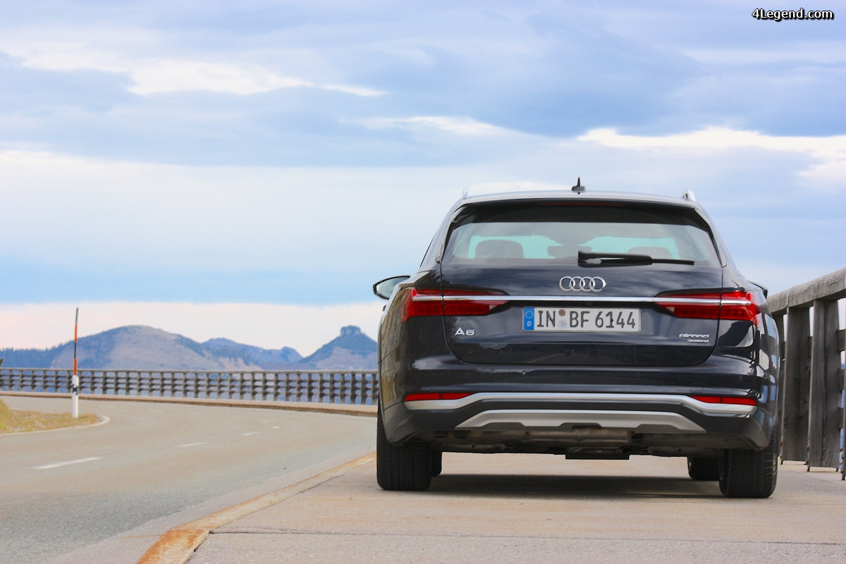 Audi A6 allroad: test drive en mode panoramique