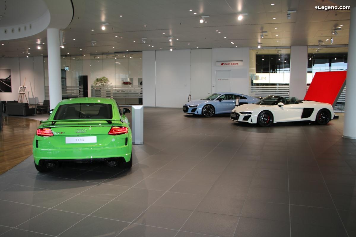 Audi augmente ses livraisons en octobre de 26,8%, avec 149 150 voitures