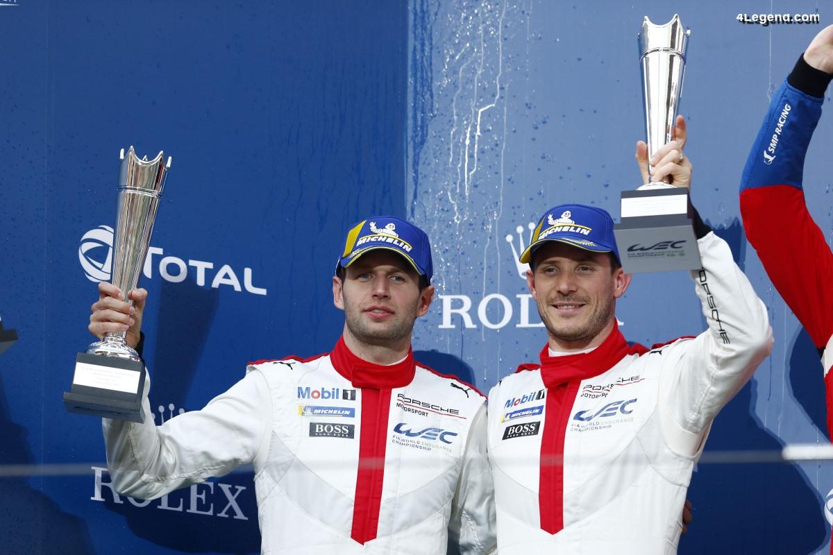 WEC - Porsche étend son avance avec un double podium à Shanghai