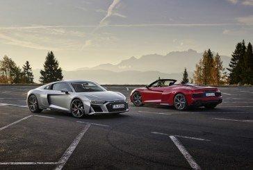 Nouvelles Audi R8 V10 RWD Coupé & Spyder – Les joies de la propulsion