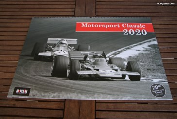 Calendrier Motorsport Classic 2020 de McKlein Publishing