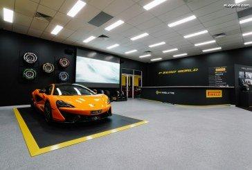 Ouverture du 5ème Pirelli P Zero World à Melbourne
