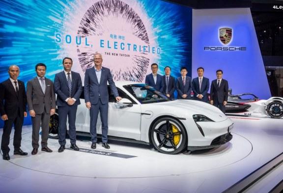 Porsche au 17ème salon automobile international de Guangzhou