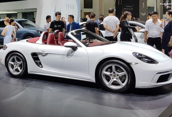 Anecdote – Les Porsche 718 Boxster et 718 Cayman n'existeraient pas sans le marché chinois