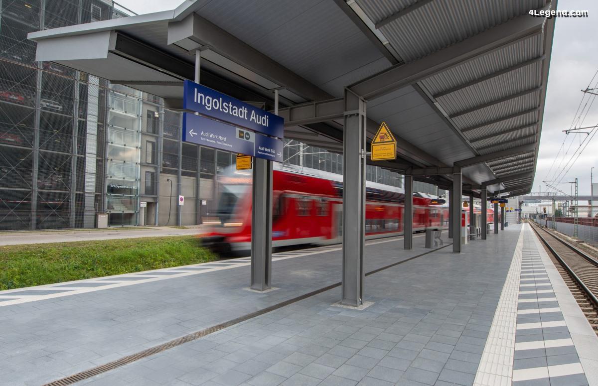 Inauguration de la nouvelle gare de train
