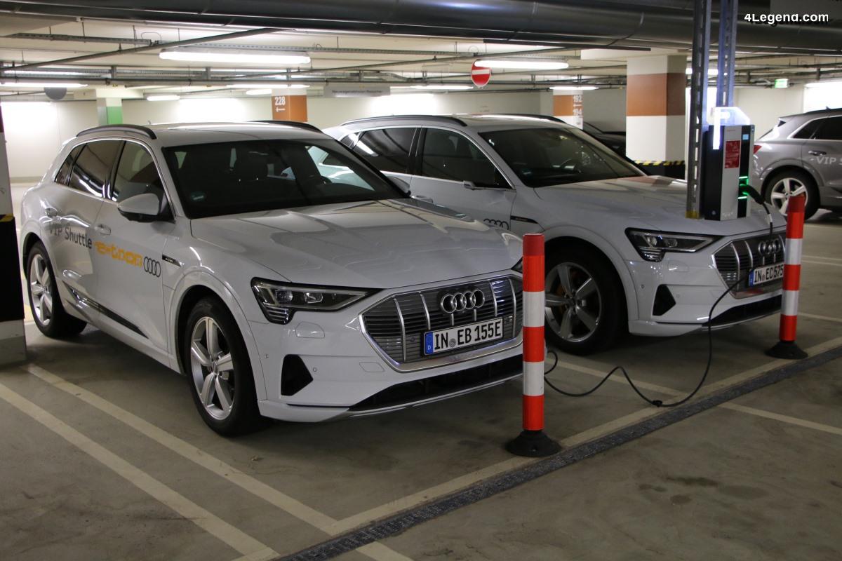 Audi augmente les dépenses initiales pour la mobilité électrique