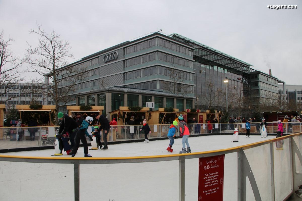 Marché de Noël Audi à Ingolstadt - Une édition 2019 incluant une patinoire