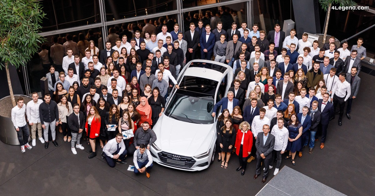 Audi Neckarsulm embauche 149 apprentis et 14 étudiants à double cursus